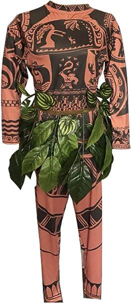 SUPERCOS - Mono para Hombre, diseño de Tatuaje de Maui en 3D, con ...