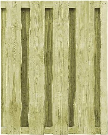 ghuanton Puerta de Valla Madera de Pino impregnada FSC 100x125 cm verdeBricolaje Vallas de jardín Puertas de jardín: Amazon.es: Hogar