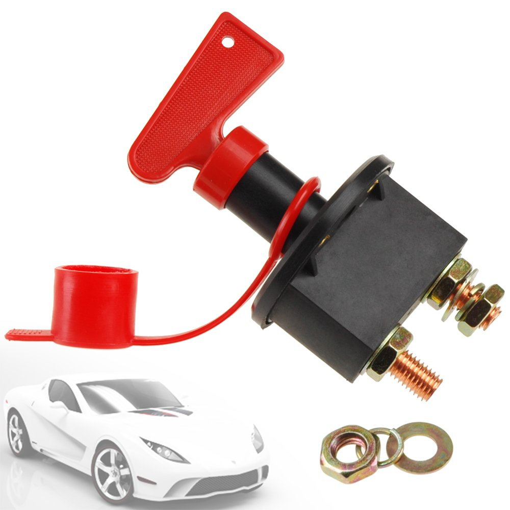 Car Battery Isolator Cut Off Switch 24v 12v Max 500A surepromise