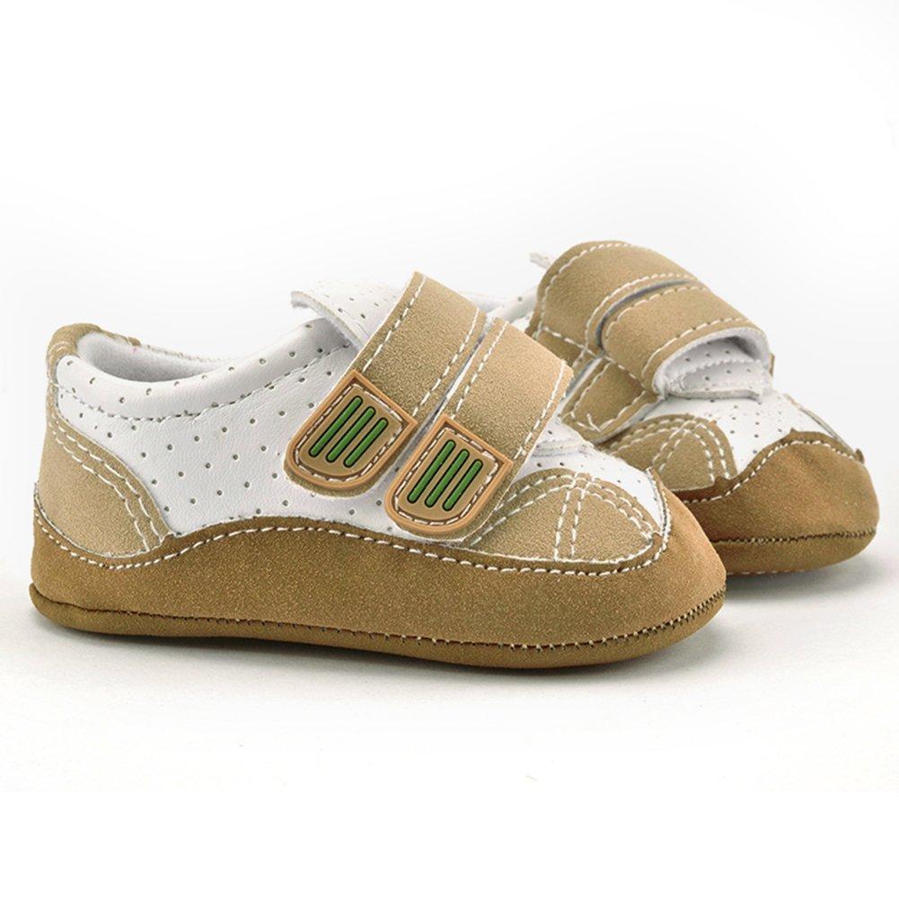 BOBORA Baby Toddler Soft Bottom Non-Slip Kids Walking Crib Shoes