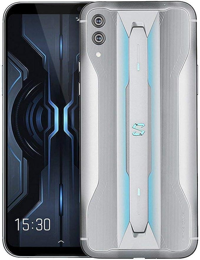 Black Shark 2 Pro 8GB + 128GB Gris - Dual SIM, 6.39 Inch AMOLED, Snapdragon 855 Plus, Adreno 640 GPU, Liquid Cooling 3.0, Dual Cámara Trasera 48MP + 12MP, Teléfono de Juego - Versión Española: Amazon.es: Electrónica