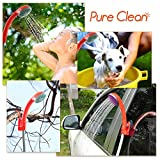 Pure-Clean-Portable-Shower-Outdoor-Camp-Shower-rinse-kit-Camping-Pool-Shower-beach-water-rinse-Rechargeable-Battery-USB-Charging-Plug-PCSHPT12