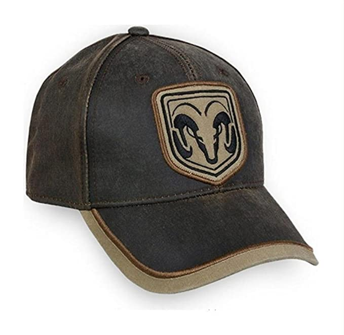 Amazon.com  Hat - RAM Weathered Ball Cap 3-D Embroidered with ... 1823fac9c15