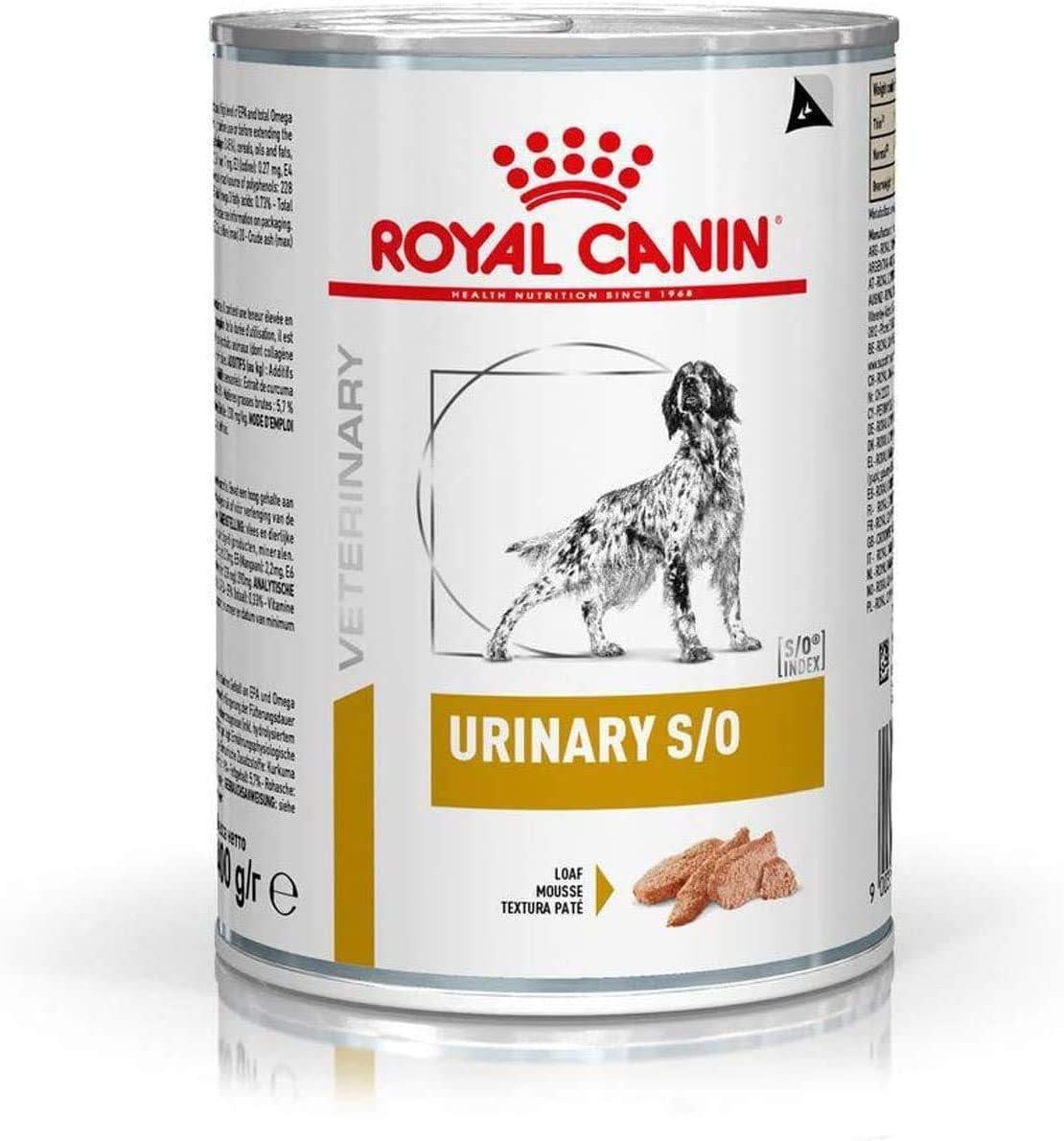 Royal Vet Canine Urinary S/O Caja 12X410Gr 4920 g