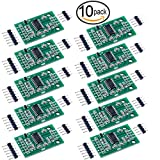 Lexiesxue 10 pcs Hx711 Weight Weighing Load Cell Conversion Module Sensors Ad Module for Arduino Microcontroller