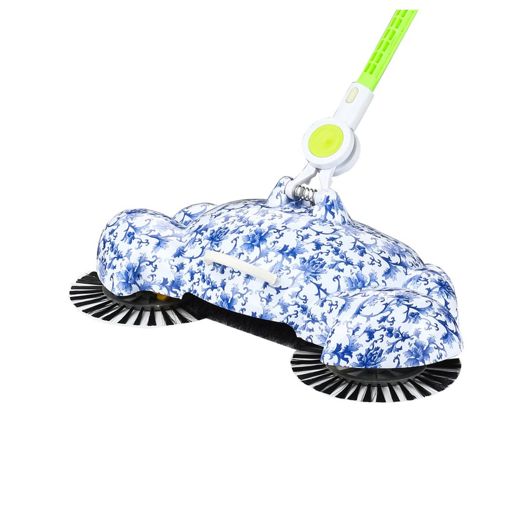 Manual Sweeping Machine, Inkach 360 Rotary Home Floor Dust Hair Sweeper Hand Push Magic Telescopic Household Brooms by Inkach (Image #3)