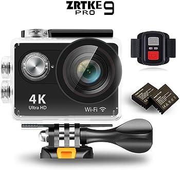 ZRTKE 4K Ultra HD WiFi Waterproof Sports Action Camera