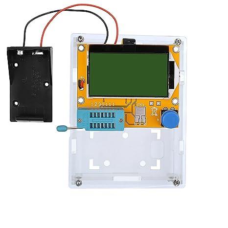 Lcr T4 Esr Meter Transistor Tester Diode Triode Kapazität Scr Induktivität 328 Lcd Display Mos Pnp Npn Batteriegehäuse Mit Hülle Gewerbe Industrie Wissenschaft