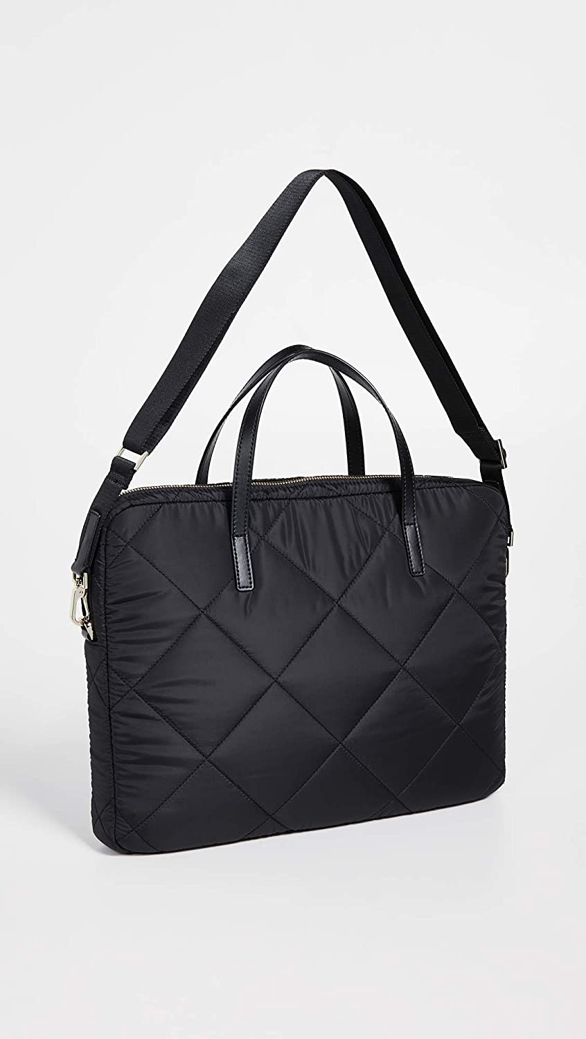 buy online 2dc7e 64295 Kate Spade New York Quilted Universal Slim Laptop Commuter Case, Black, One  Size