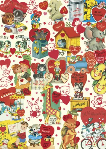 Cavallini-Co-Decorative-Wrapping-Paper-Valentine-Retro-20×28