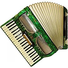Firotti Elegance, 120 Bass + Case, Made in Germany, Fine Keyboard Accordion, 749, Beautiful Used Accordian For Sale.