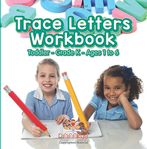 Download Trace Letters Workbook  Toddler–Grade K - Ages 1 to 6 pdf