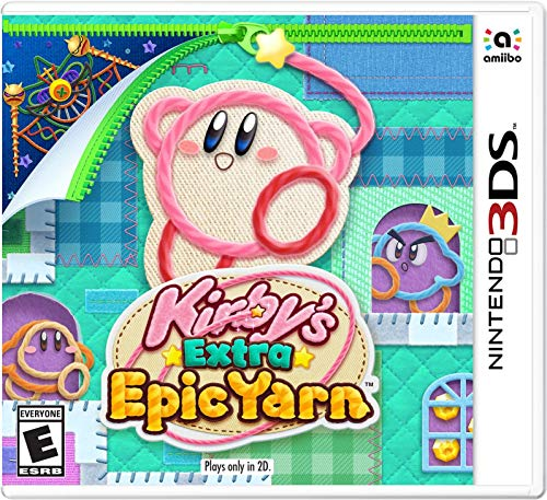 Kirby's Extra Epic Yarn - Nintendo - Kirby Games