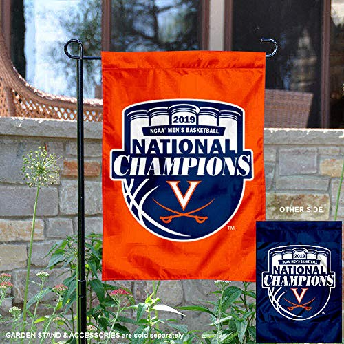 College Flags and Banners Co. Virginia Cavaliers 2019 NCAA Final Four Champions Garden Flag