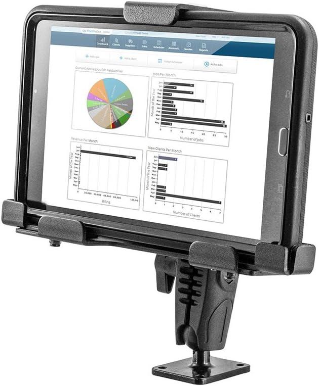 Arkon Locking Adjustable Tablet Mount with Key Lock for E-Log for Galaxy Tab LG G Pad iPad Retail Black