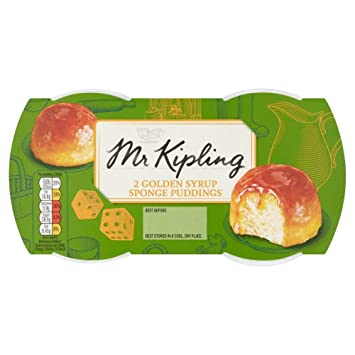 0f69524c96 Amazon.com : Mr Kipling Puddings Golden Syrup 2 X 85G : Gourmet Food ...