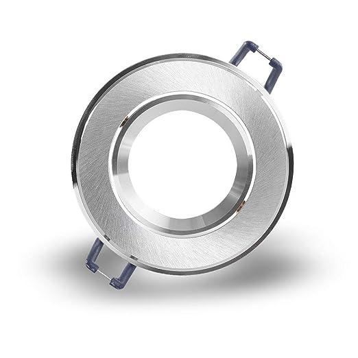 Einbaustrahler Einbaurahmen Einbauring Einbaufassung Aluminium rostfrei Rund