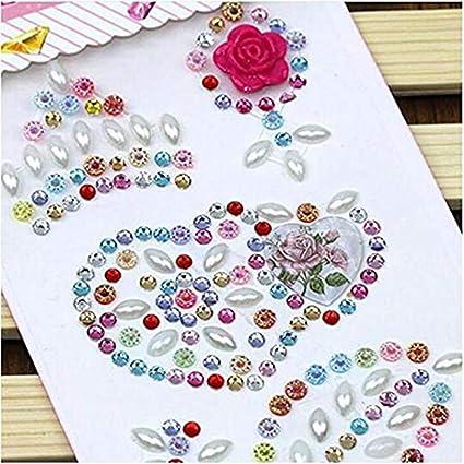 Morkia Self-adhesive Craft Jewels 7415e5f82ef2