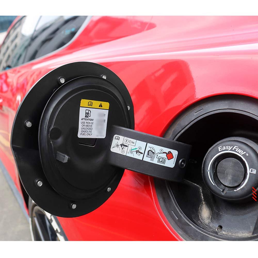YYD Tankabdeckung Tankklappe Abdeckung f/ür 2015-2019 Ford Mustang Tankdeckel Abdeckung Tankdeckel Kompatibel,Carbonfibermodels