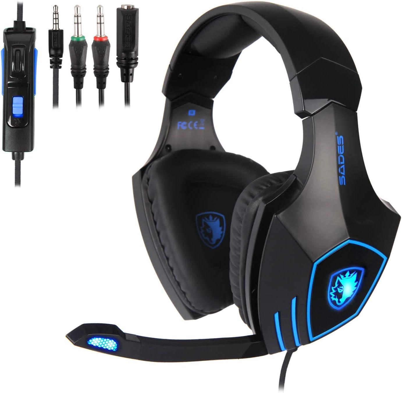 SADES Gaming Headset Earphone