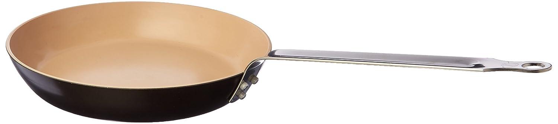 Brown//Beige Matfer Bourgeat 675228 Classic Ceramic Crepe Pan 11-Inch