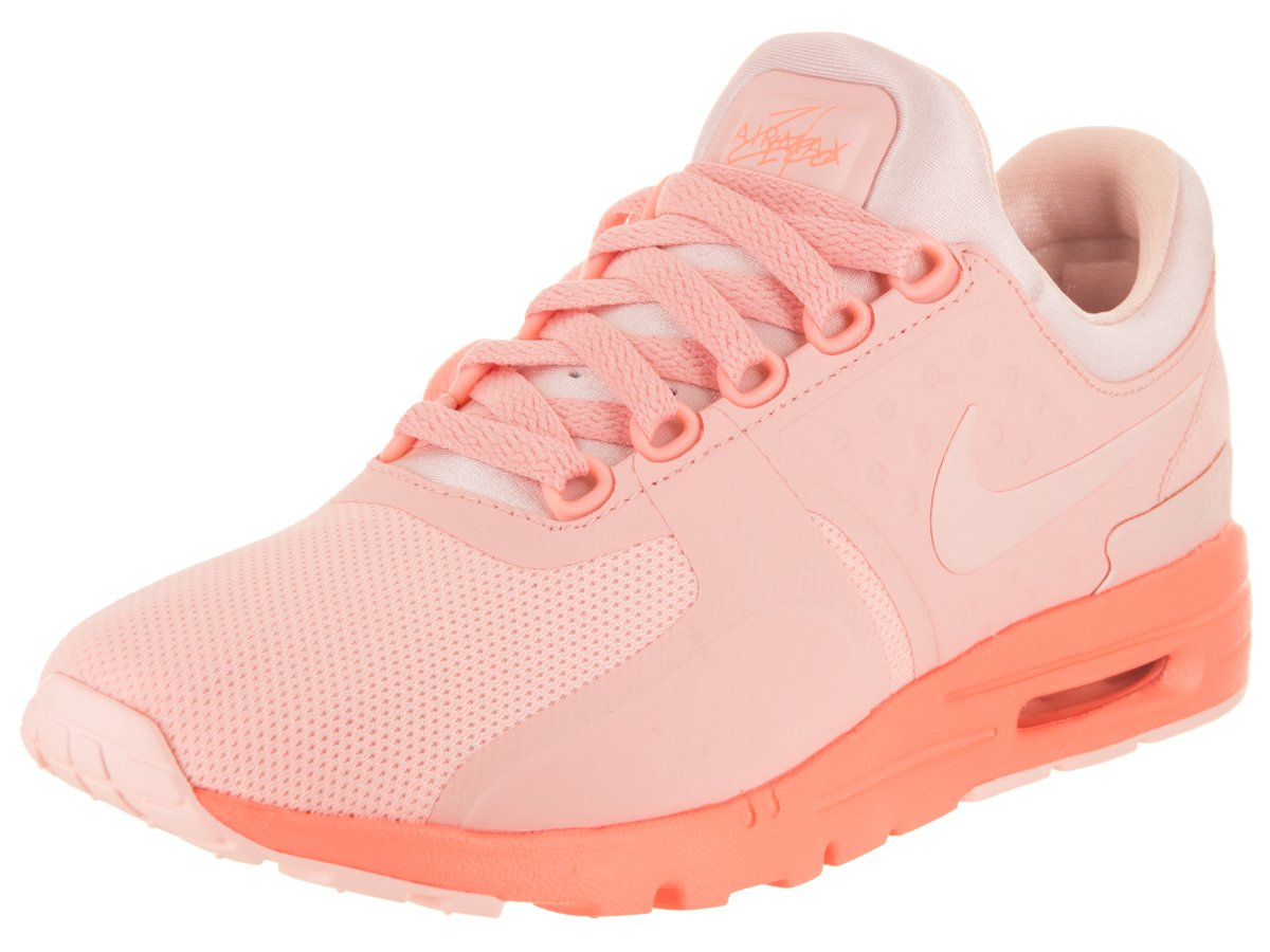 NIKE Women's Air Max Zero Running Shoe B004TOED60 6.5 B(M) US|Sunset Tint/Sunset Glow
