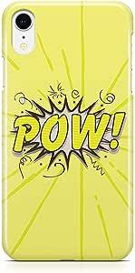 جراب Loud Universe لهاتف iPhone XR مغطى بحواف دائرية مطبوعة بألوان نابضة بالحياة جراب متين لهاتف iiPhone XR