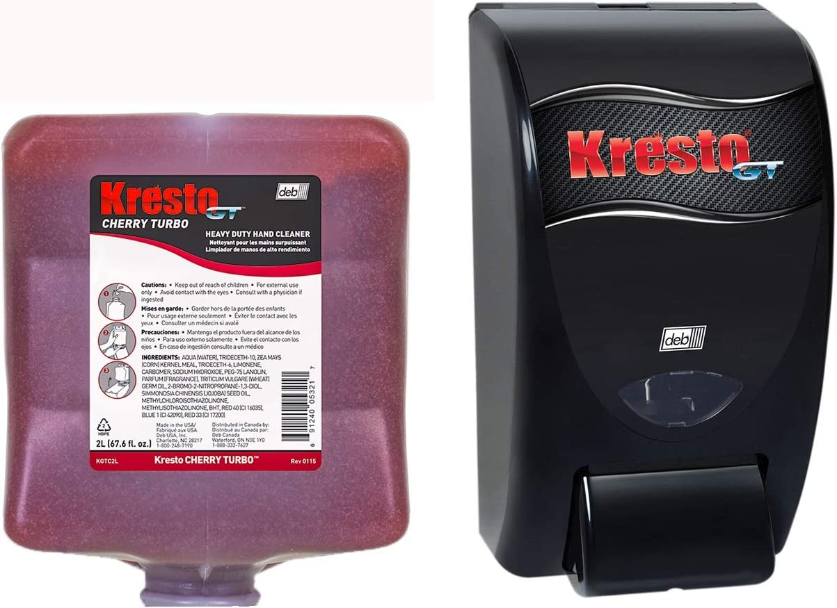 Best KrestoGT Cherry Turbo Hand Cleaners For Mechanics