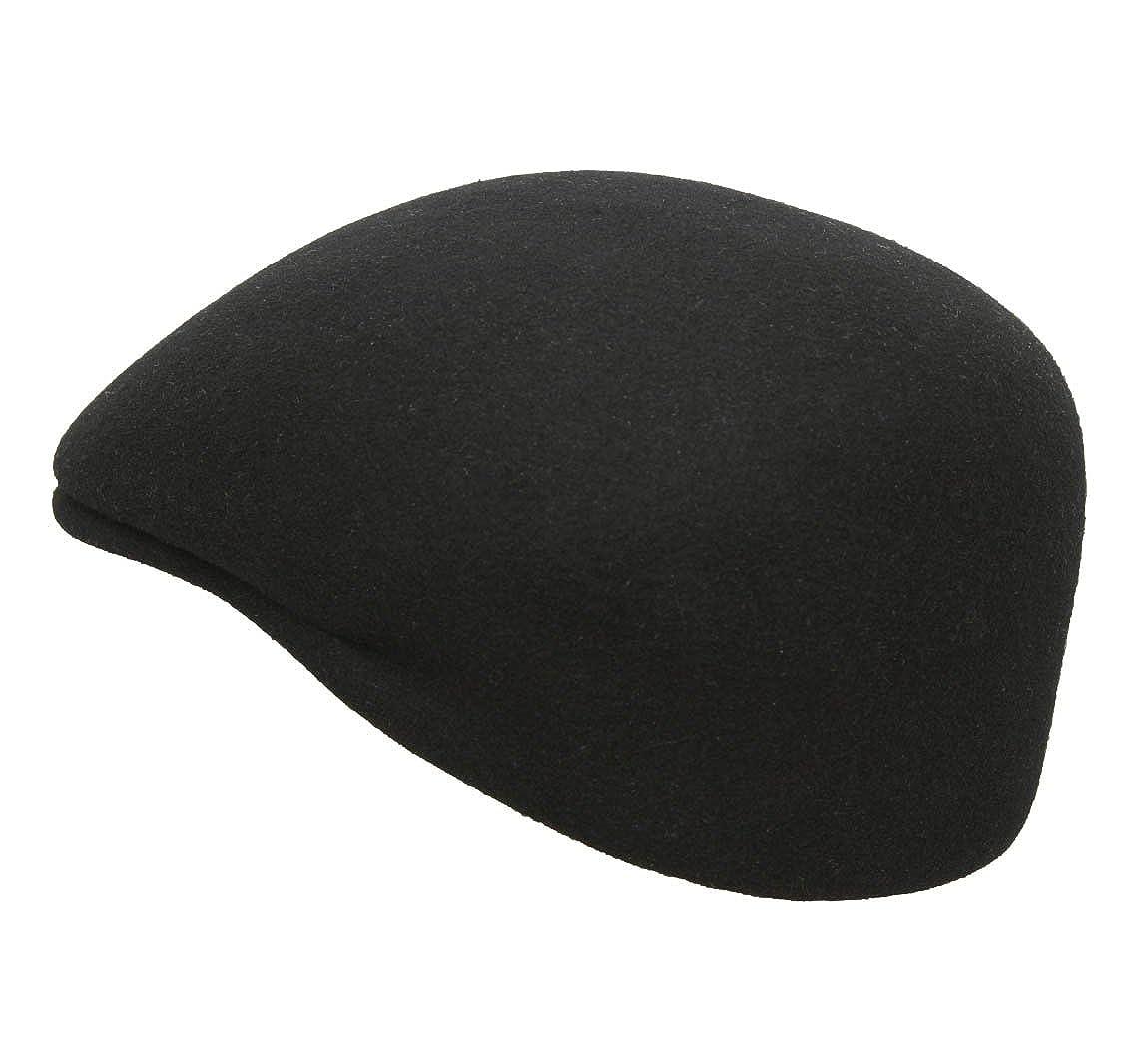 Classic Italy Bomb/ée Flat Cap Water Repellent Size 55 cm Black