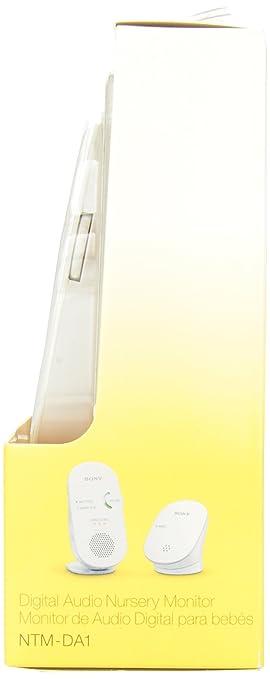 Amazon.com : Sony NTM-DA1 Digital Baby Monitor (White) : Network Security Appliances : Baby