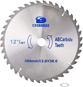 5inch Circular Saw Blade Carbide Tipped Wood Cutting Disc For Woodworking 40T