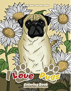 Amazon Com Art Of Pug Coloring Book Collection A Coloring Book For