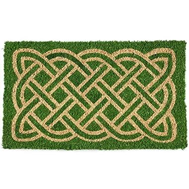 Entryways Celtic Handwoven Coconut Fiber Doormat