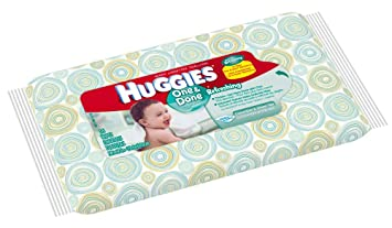 Huggies Naturally Refreshing Baby Wipes-16-Wipes Per Bag-Travel Pack with Cucumber