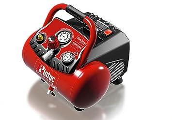 Compresor Portátil Italiano Pintuc ENERGY 12 de 1.5 Hp, 12 Litros, 14 Kilos y 10 Bares de Presión.: Amazon.es: Bricolaje y herramientas