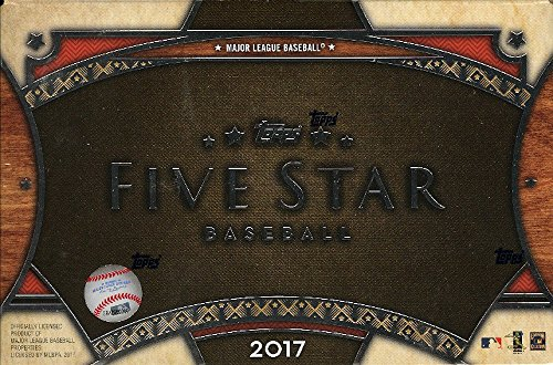 2017 Topps Five Star Baseball Hobby Box - 2 autographed cards per box!