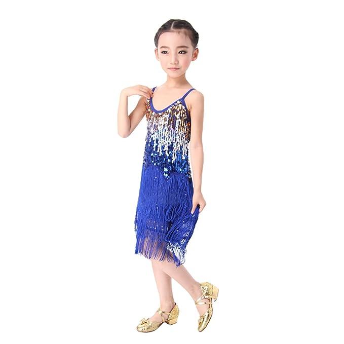 competitive price 166ad 04a35 Yefree Vestito da ballo latino Vestito da nappa Vestito da ...