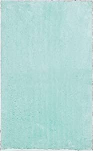 """Home Dynamix Blue Alpine Bathroom Mat : Absorbent and Ultra Plush, Non Skid Backing (21' x 34"""")"""