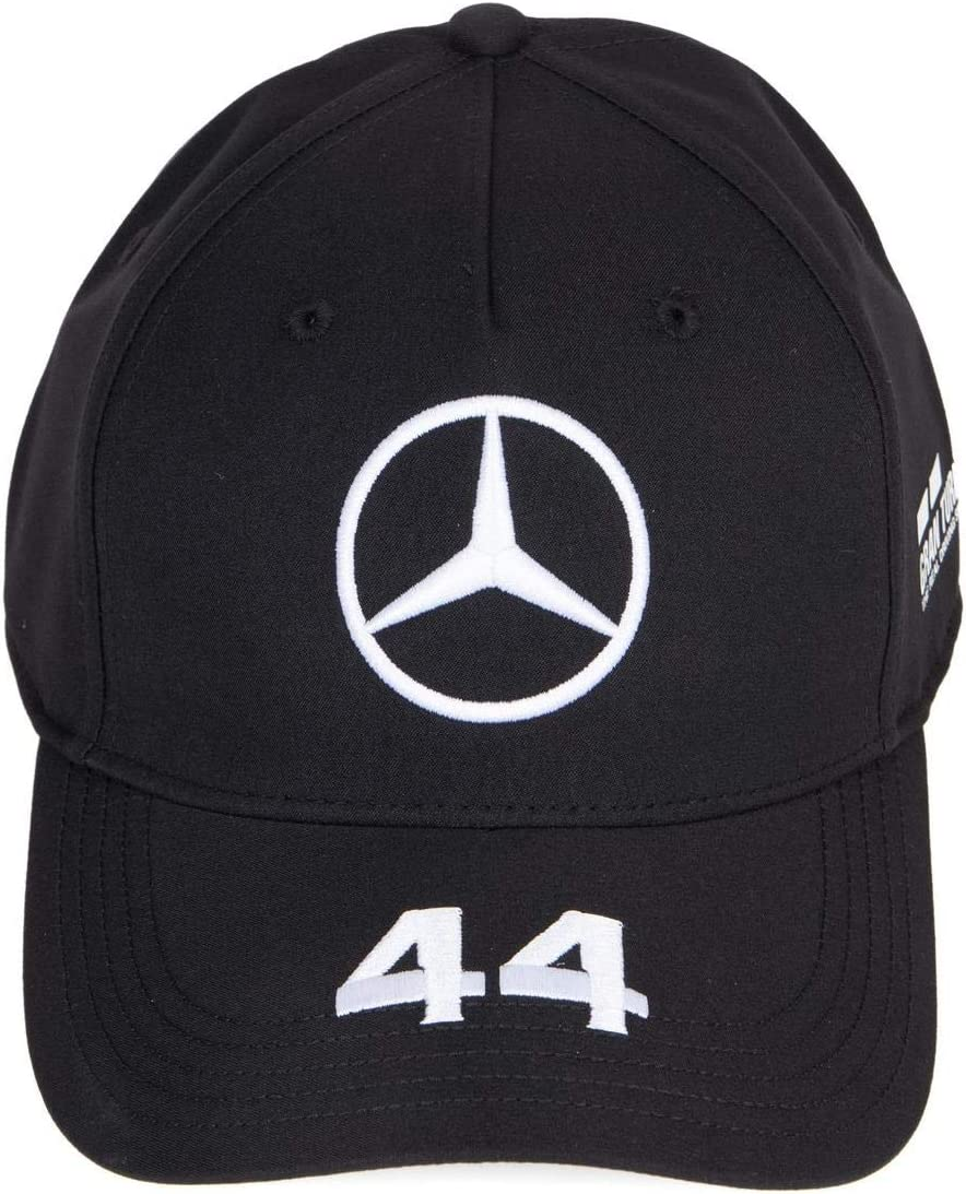 Official Formula one - Mercedes-AMG Petronas Motorsport 2020 - Gorra de béisbol negra de Lewis Hamilton