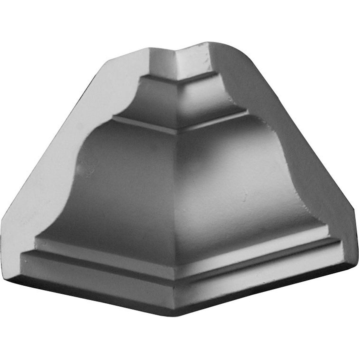 Ekena Millwork MIC02X02LY-CASE-4 2'' P x 2'' H Inside Corner for Molding MLD02X02X03LY (4-Pack)