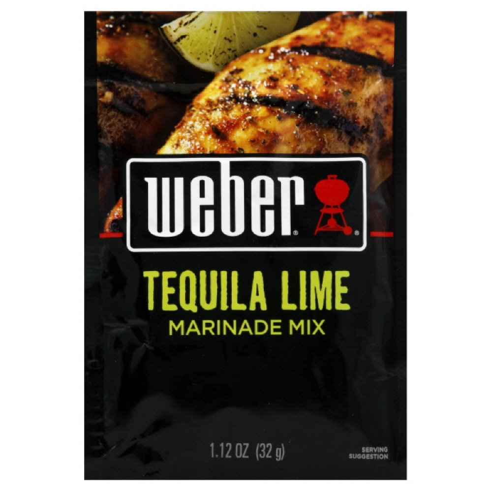 Amazon Com Weber Grill Tequila Lime Marinade 1 12 Ounce Pack Of 12 Gourmet Marinades Grocery Gourmet Food