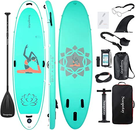 Amazon.com: Tabla inflable de surf de remo, tabla inflable ...