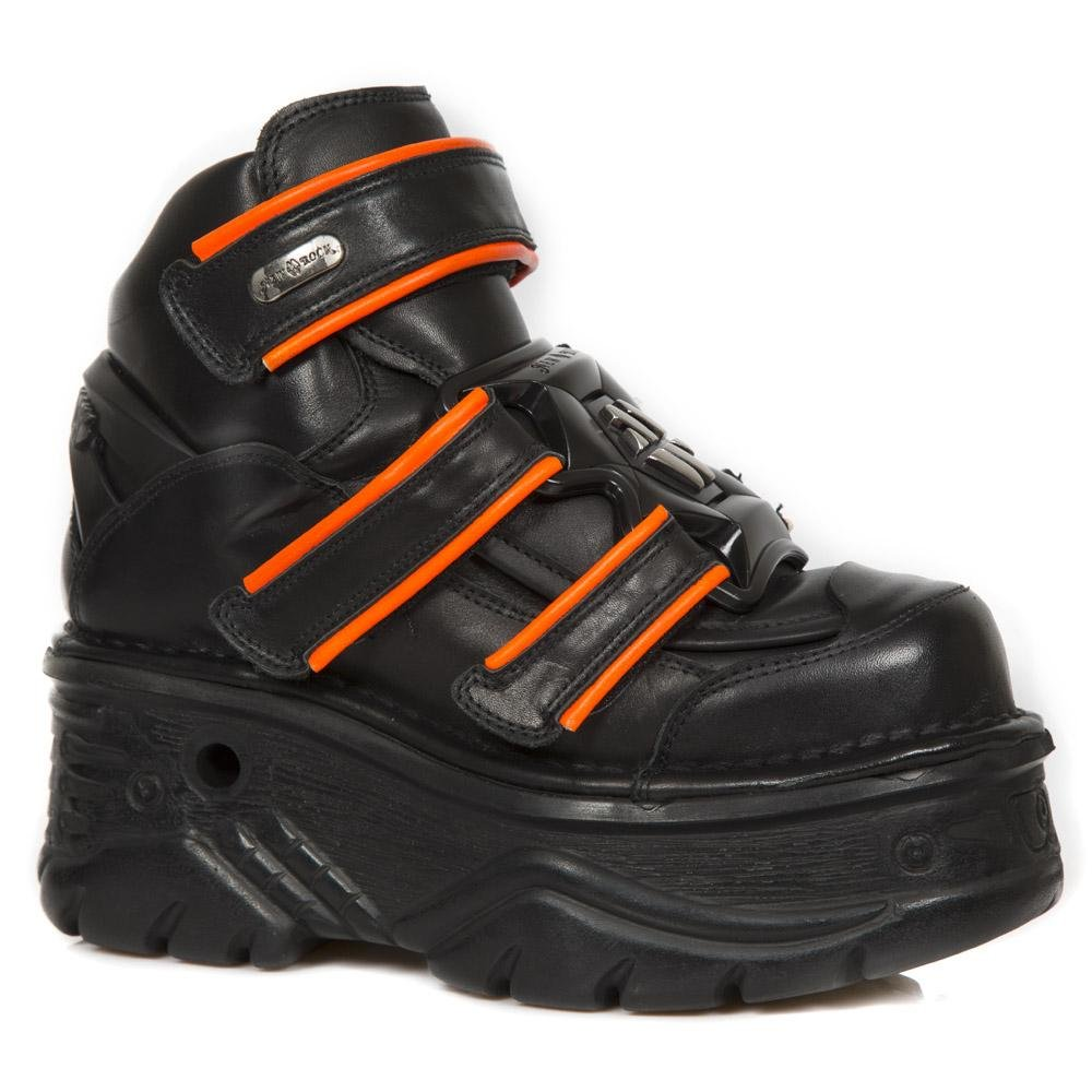 M.1078-S2 (40) New Rock Leather Boots