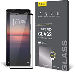 Olixar Screen Protector for Sony Xperia 1 II, Tempered Glass - Reliable Protection, Supports Device Features - Full Video Installation Guide