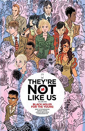 Download They're Not Like Us Volume 1: Black Holes for the Young pdf epub