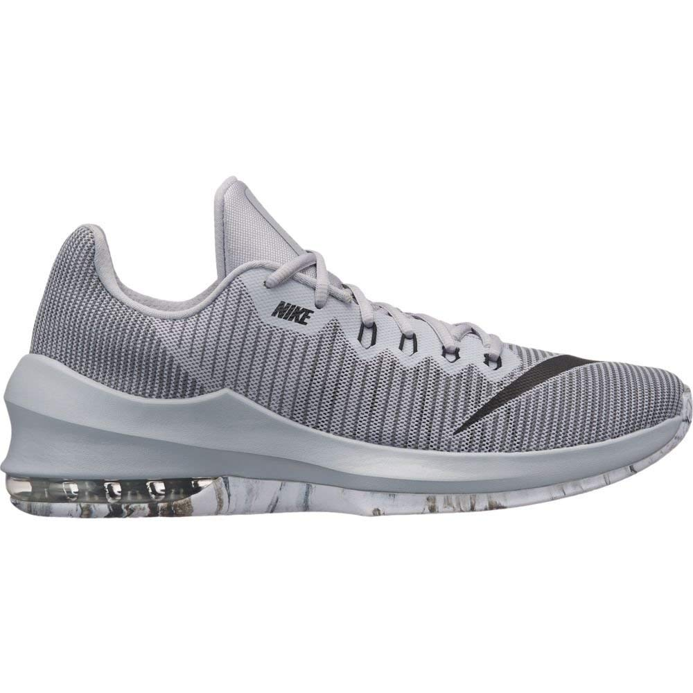 2af1847e9e806 Galleon - Nike Men's Air Max Infuriate 2 Low Basketball Shoes, (Grey/Black/ Grey, 10 D(M) US)