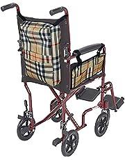 QEES 2 bolsas para silla de ruedas, sillas de ruedas de alta resistencia, mochila