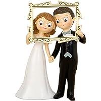 Mopec Pop&Fun Figura para Pastel para boda, Resina
