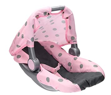 UMKYTOYS Pretend Doll Car Seat For Dolls