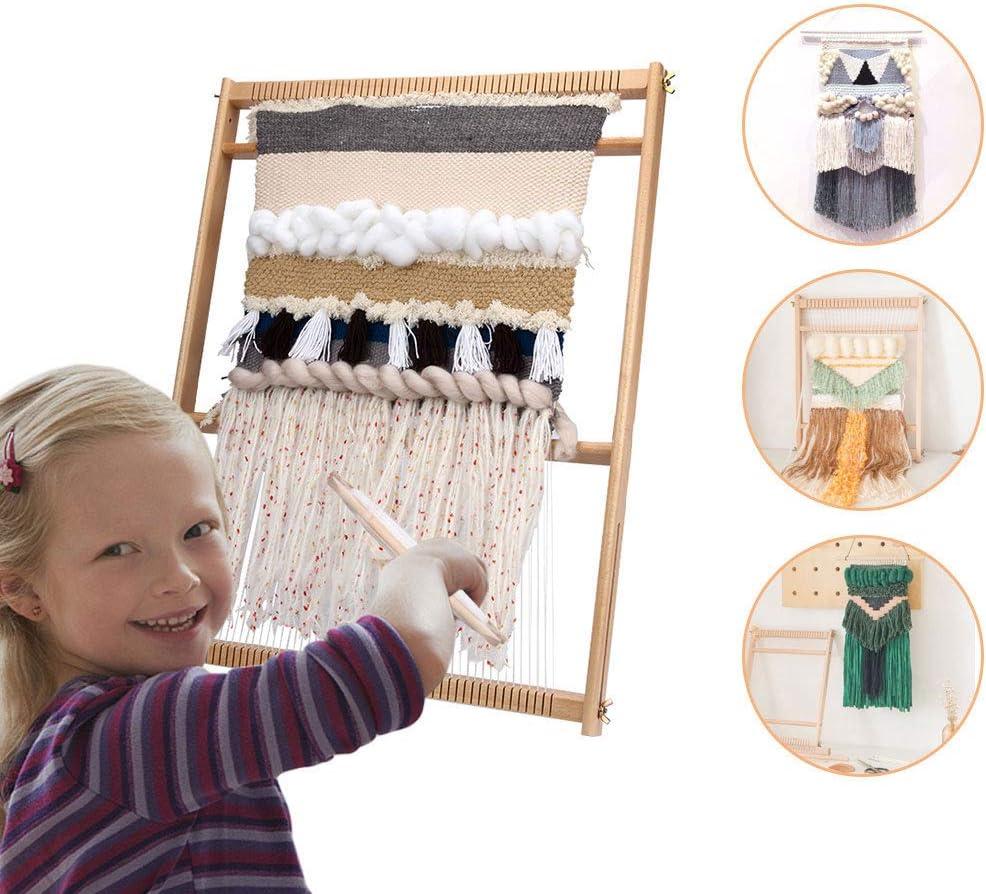 Wooden Weaving Handcraft Set Knitting Kit Frame
